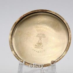 10k Gold 1926 Hamilton 17 Jewel RR Style Mechanical Pocket Watch Grade 974 16s