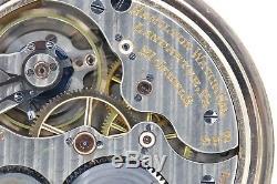 10k Gold 1927 Hamilton 21 Jewel 992 RAILROAD Grade Pocket Watch Mechanical 16s