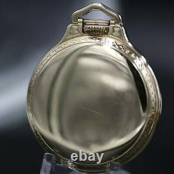 10k Gold Hamilton 23 Jewel 950B RAILWAY SPECIAL Pocket Watch Montgomery Dial 16s