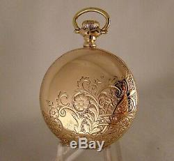 118 YEARS OLD HAMILTON 925 17j 10k GOLD FILLED HUNTER CASE 18s POCKET WATCH