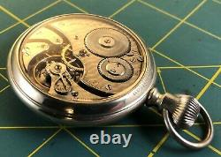 146 Hamilton 21 J Hayden W Wheeler Salesman Sample Case POCKET WATCH Running