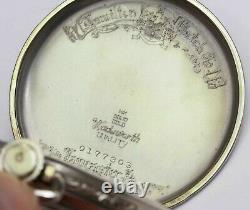 14K GOLD HAMILTON Pocket Watch 1933 CADILLAC LASALLE Award