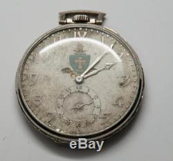 14K Gold Elgin Pocket Watch 1930 Sigma Chi 17 Jewels