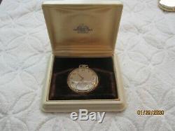 14K Hamilton 21J Caliber 921 Pocket Watch- SOLID 14K GOLD