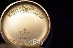 14k 1930 Hamilton Pocket Watch, Packard Motor Co. Crisp & Unused in Original Box