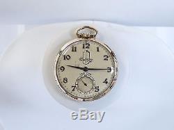 14k Gold Hamilton Pocket Watch Packard Motor Car Company