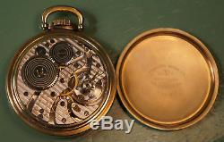 16 Size Hamilton 950B 23 jewels Railway Special pocket watch, in Model A case