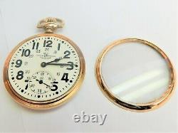16s Ball Hamilton 23 jewel 999 Railroad pocket watch. Serviced and guaranteed