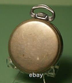 16s Hailton 22J 4992B WWII era USAAF navigational watch for parts or repair