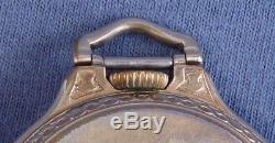 16s Hamilton 23j 950B/6 Pocket Watch, #S21469-1957, OF, Double Sunk Dial, GF Cs