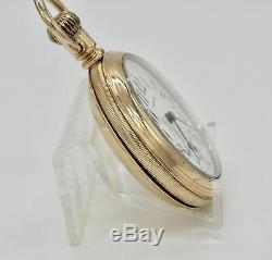 18 Size Hamilton 21 Jewel Pocket Watch