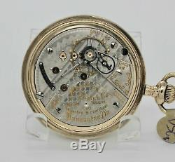 18 Size Hamilton 940 Pocket Watch
