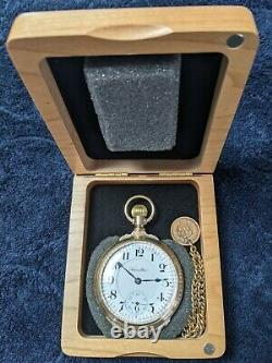 18 size hamilton pocket watch