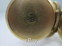 1879 Antique 14k Yellow Gold Hampden Dueber Double Hunter Pocket Watch
