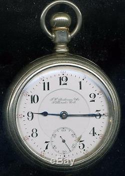 18s 17j two-tone Hamilton J. C. Anderson & Co. Telluride Colorado pocket watch
