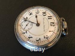 18s Hamilton 940 Pocket Watch. 21 Jewels. Adjusted