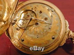 18s Hamilton Tu Tone 941 Special Multi Colored Dial RR Hunter Case Pocket Watch