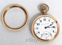 1903 Hamilton Railroad 21j 18s 940 Lever Set Locomotive Engraved Pocket Watch