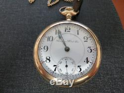 1904 Hamilton Pocket Watch 21 Jewels Grade 940 size 18s Serial # 454739 WithFob