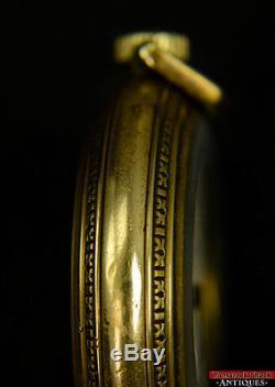 1906 Hamilton 940 21J 18s RR Grade Pocket Watch NOS Glass Crystal Ready to Use
