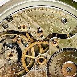 1907 Hamilton 992 16S 21J Stainless Steel BOC Salesman Railroad Pocket Watch
