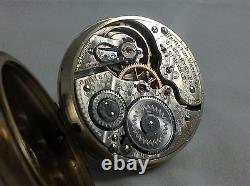1907 Hamilton 992 16s 21 jewel Railroad pocket watch. Runs Great