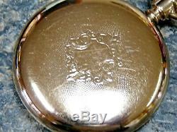 1907 Hamilton Pocket Watch Railroad Model 950 / 23j / 16s