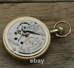 1907 Railroad Grade, Hamilton, Open Face Pocket Watch, 21 Jewel, 18s Grade 940