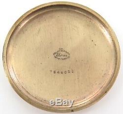 1912 Hamilton 992 16s 21j 5 Adj Gold Screw Set 10k Rgp Railroad Gr Pocket Watch