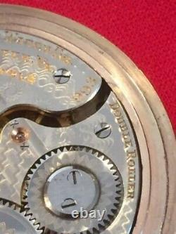 1914 Hamilton Grade 993 21j 16s Railroad Pocket Watch 11,480 Made-Runs Great