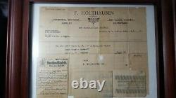 1915 14K Hamilton 950 Pocket Watch with box papers and orig receipt