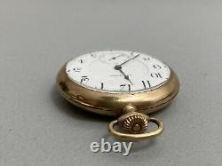 1915 Hamilton Model 2 Grade 956 17J 16S Pocket Watch Runs