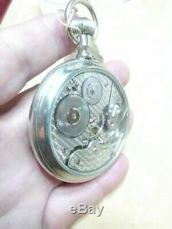1916 16s 21j Hamilton 992 Pocket Watch Hamilton display case withtag gold CW RR