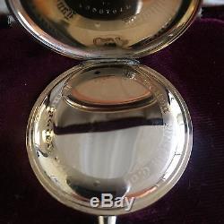 1918 Hamilton 23J Size 12S Grade 920 Open Face Pocket Watch MINT