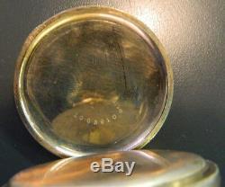 1918 Hamilton Rail Road 992 21 Jewel Pocket Watch Original Box