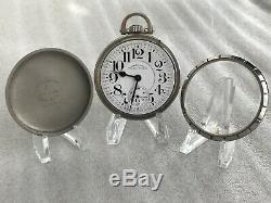 1920 Hamilton 992 Railway Special Pocket Watch 21j Serviced