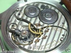 1921 Hamilton 914, pocket watch conversion, Jeweler signed dial