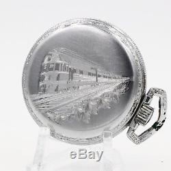 1922 Hamilton 21 Ruby Jewel 992 RAILROAD Grade Pocket Watch 16s Antique USA
