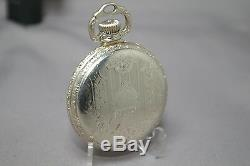 1922 RAILROAD BALL HAMILTON 999N 23J 16s POCKET WATCH BALL GOLD FILLED CASE RUNS