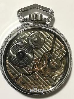 1923 Hamilton 992 16S 21J Pocket Watch Railroad Display Salesman Case Accurate