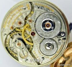 1923 Hamilton 996 19 Jewel Railroad Approved Pocket Watch in a B&B Royal GF Case