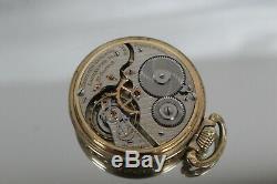 1923 Hamilton Model 2 Railway Pocket Watch 21J Grade 992 Size 16S Works well