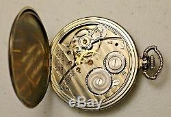 1925 Hamilton 14K Gold Filled Pocket Watch Grade 912 Model 2 Size 12 17J In Box