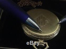 1925 Hamilton, Grade 922 23J SOLID 14K gold signed case with original box