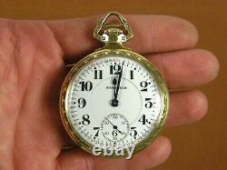 1925 Hamilton Railroad Pocket Watch 992 16s 21j 10k GF Model 2 Monty Dial BOC