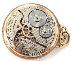 1926 Hamilton 992 16s 21j 5 Adjusts Railroad Grade 10k Gf Pocket Watch