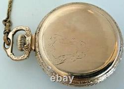 1927 Ball Hamilton Official Standard Railroad Grade 999P Pocket Watch 21j, 16s