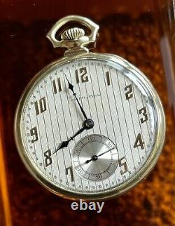 1927 Cadillac Motor Car Co. Service Award Pocket Watch in a 14k Solid Gold Case