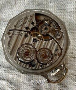 1931 Hamilton Gr. 912, Mdl. 2, 17j in an Rigid Bow Decagon 14k Gold Filled Case