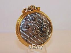 1931 Hamilton Railroad 16s 21 Jewel 992E Salesman Case Pocket Watch. Very Nice